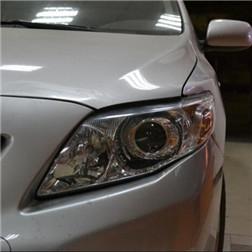 卡罗拉改装Q5双光透镜 欧司朗氙气灯效果