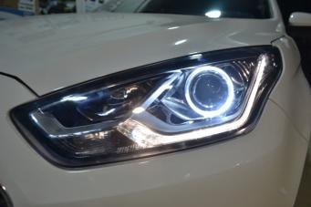 福睿斯车灯改装Q5透镜 海拉5透镜欧司朗飞利浦氙气灯