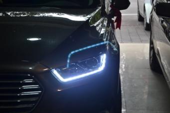 金牛座车灯改装大灯总成LED大灯日行灯氙气灯