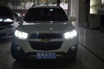 科帕奇车灯改装海拉透镜欧司朗氙气灯