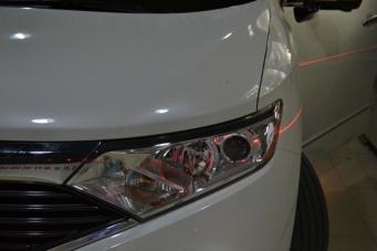 贵士车灯改装进口海拉透镜飞利浦氙气灯