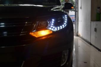 13款途观大灯总成15途观氙气大灯途观升级原装氙气灯