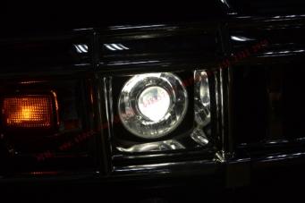 悍马H2车灯改装