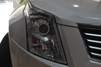 SRX车灯改装进口海拉5透镜飞利浦XV氙气灯