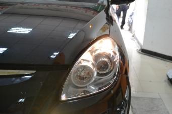 大7车灯改装透镜氙气灯