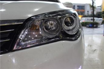 荣威350车灯改装透镜氙气灯天使眼