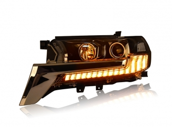兰德酷路泽全LED大灯总成兰德酷路泽LED前大灯