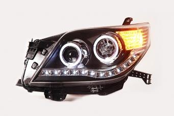丰田普拉多大灯总成10款普拉多氙气大灯13款霸氙气灯