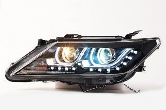 12款凯美瑞大灯总成12凯美瑞氙气大灯凯美瑞改装LED日行灯