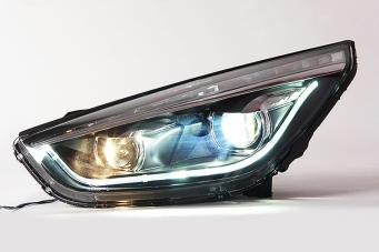 现代IX35大灯总成IX35氙气灯