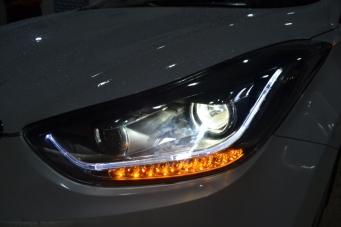 现代朗动大灯总成13朗动氙气灯朗动改装双光透镜