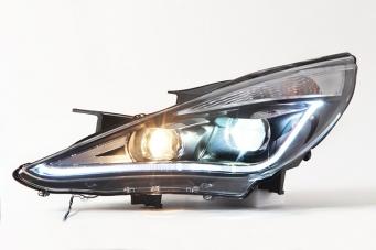 现代索纳塔8大灯总成索纳塔8氙气大灯
