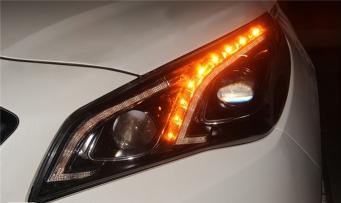 现代索纳塔九大灯总成索纳塔9氙气大灯