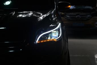 福特翼虎大灯总成翼虎光导氙气大灯
