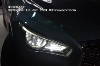 Q50 车灯改装LED大灯总成 原装LED大灯总成