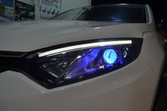 智尚XT车灯改装海拉透镜恶魔眼