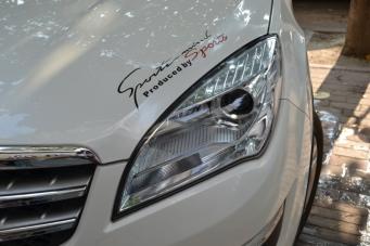 长安CS35车灯改装海拉透镜欧司朗氙气灯