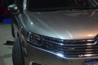 雪铁龙C6车灯改装海拉透镜欧司朗氙气灯飞利浦氙气灯重庆改灯