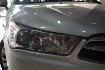 雪铁龙世嘉车灯改装海拉Q5透镜飞利浦欧司朗氙气灯重庆改灯