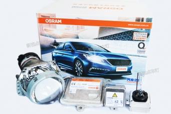 重庆改灯汽车改装海拉5透镜欧司朗氙气灯欧司朗安定器汽车之家套装