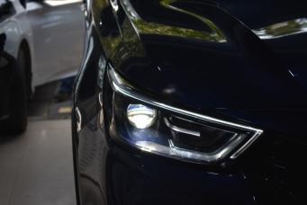 长安欧尚科赛车灯改装亮野L3 LED双光透镜