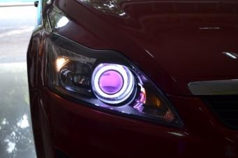 车灯改装后暗淡无光?如何提高灯光亮度方法